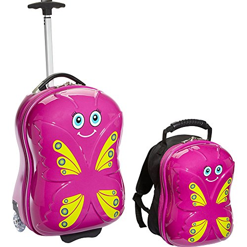 trendykid-bella-butterfly-upright-carry-on-and-backpack-pink-yellow