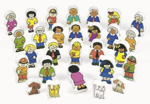 Wonderful Wood Block Families - Gifts for Kids