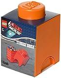 LEGO Movie Storage Brick 1, Bright Orange