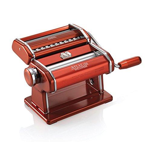 Marcato Atlas Pasta Machine, Red (Marcato compare prices)