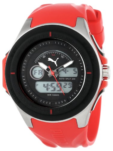PUMA Men's PU911021002 Fuel Digital and Analog Watch (Watch Fuel compare prices)