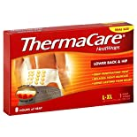 ThermaCare HeatWraps, Lower Back & Hip, L-XL, Trial Size, 1 heatwrap
