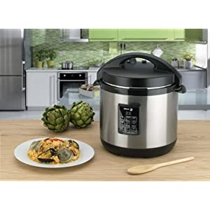 agor 670040230 Stainless-Steel 3-in-1 6-Quart Multi-Cooker