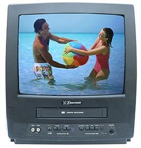 Emerson EWC1303 13-Inch TV/VCR Combo