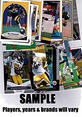 Lot of (25) Pittsburgh Steelers Football Cards - Fan Favorites, Stars, Rookies & More!