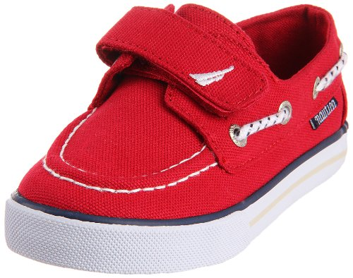Nautica Little River 130 Boat Shoe (Toddler/Little Kid/Big Kid),Red ,8 M Us Toddler front-1025762