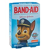 BAND-AID PAW Patrol Bandages - First Aid Supplies - 20 per Pack