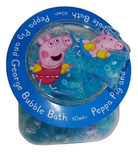 Sacchetto bagnoschiuma Peppa e George Pig
