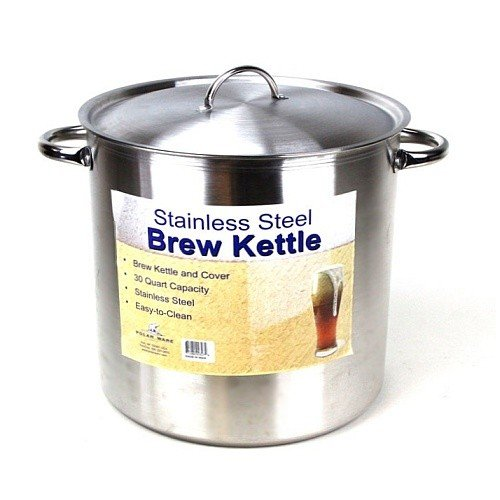 75 30 Qt Gallon Stainless Steel Stock Pot With Lid
