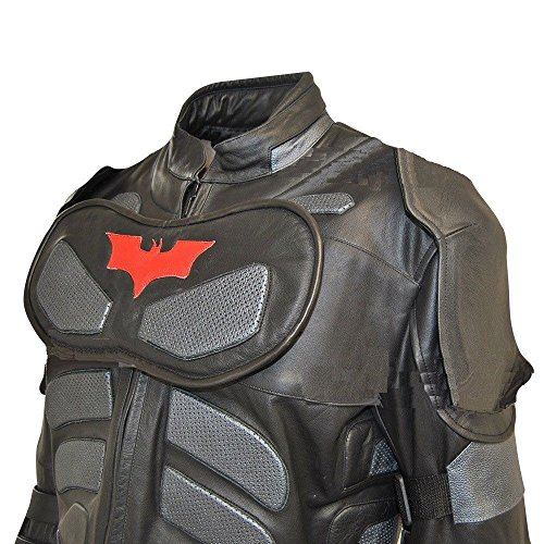 NorthernFinch Men's Dark Real Leather Knight Costume 5X large