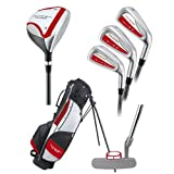Young Gun PRO RED RH Junior golf set club & bag (for player heights 48