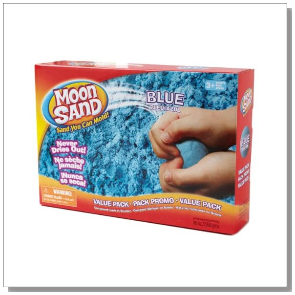 Moon Sand Space Blue 5 Lb Box