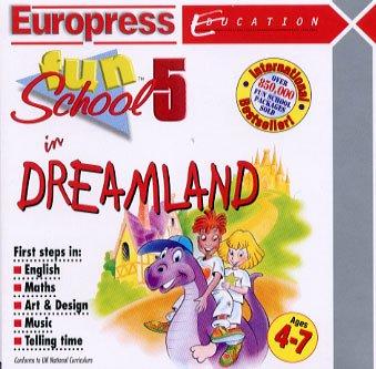 Fun School 5 - DREAMLAND Ages 4-7 - Jewel cased