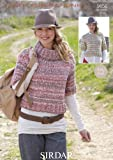 Sirdar Faroe Super Chunky Women's Cardigan Knitting Pattern 9656