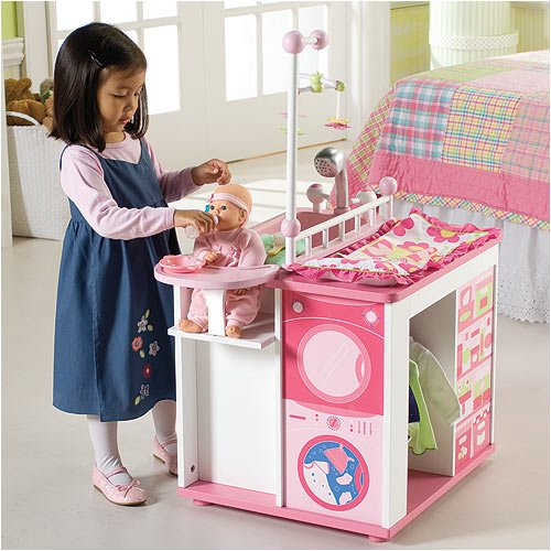 Toy Baby Doll Center : Our generation baby doll care center with accessories