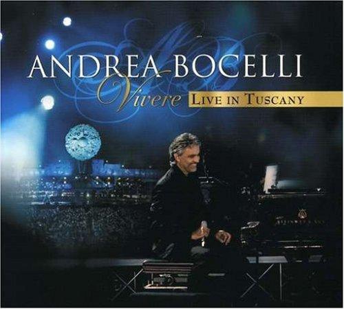 Andrea Bocelli - Vivere Live in Tuscany [CD/DVD] - Zortam Music