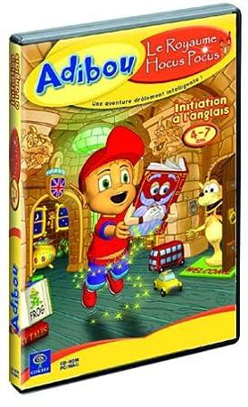 Adibou 3 : Le Royaume Hocus Pocus (initiation à l'Anglais), 4-7 ans