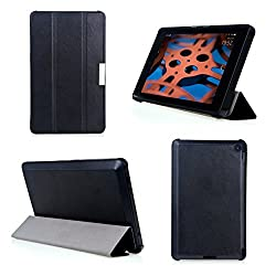 Bear Motion for Fire HD 6 Tablet - Premium Ultra Slim Case with Stand for Kindle Fire HD 6 Tablet (Oct, 2014 Release) - Black