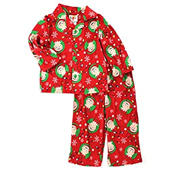 elf on the shelf kids flannel pajamas 6. Black Bedroom Furniture Sets. Home Design Ideas