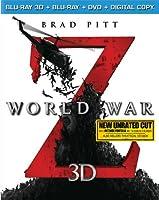 World War Z (Blu-ray 3D + Blu-ray + DVD + Digital Copy) from Paramount