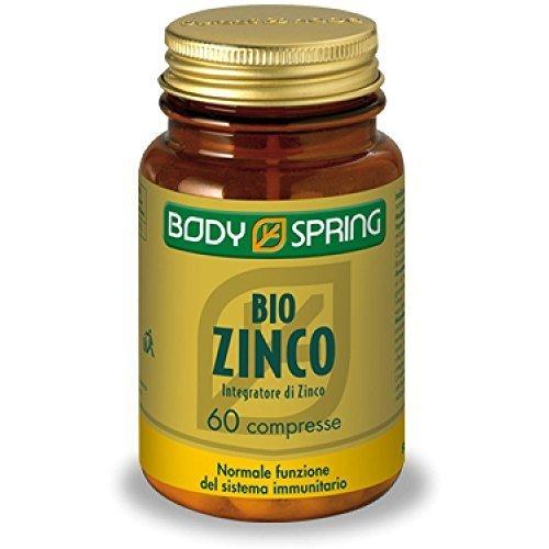 BODY SPRING BIO ZINCO 60CPR