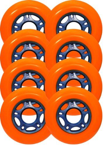 Labeda Asphalt Outdoor Roller Hockey goalie Wheels 55mm 89A set of 8