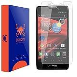 Motorola Droid RAZR MAXX HD Screen Protector (Full Coverage Matte), Skinomi® MatteSkin - Anti-Glare / Anti-Fingerprint / Anti-Bubble - Lifetime Warranty
