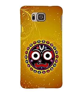 Surya Bhagavan Jagannath Orissa 3D Hard Polycarbonate Designer Back Case Cover for Samsung Galaxy Alpha G850