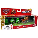 Disney Pixar Cars 3 Car Gift Pack with Chick Hicks Pitty, Bruiser Bukowski and Mater