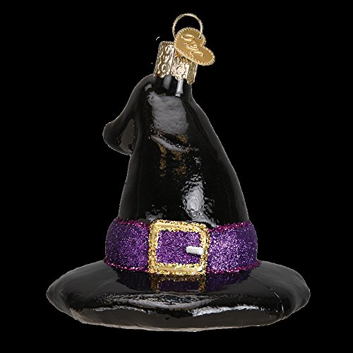 Old World Witch's Hat Ornament