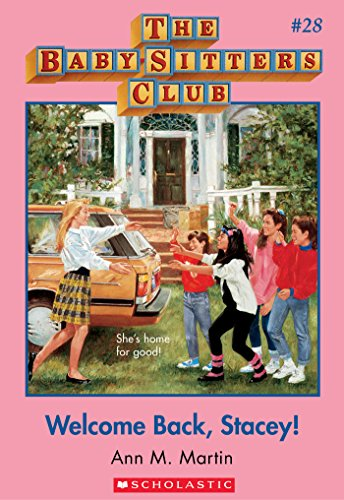 The Baby-Sitters Club #28: Welcome Back, Stacey! front-1069030