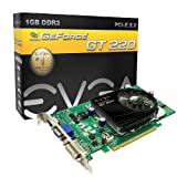 51A8OqYkAlL. SL160   Evga Nvidia Geforce Gt 220 1 Gb Pci express Video Card with Reviews