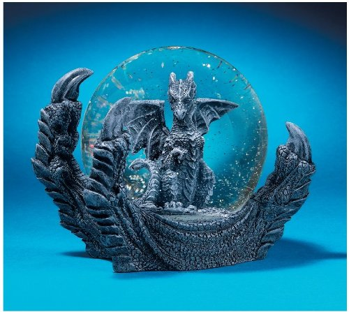 Manke the Dragon Snow Globe