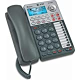 2-Line Speakerphone With Caller Id And Digital Answering System Automatic Line Selection