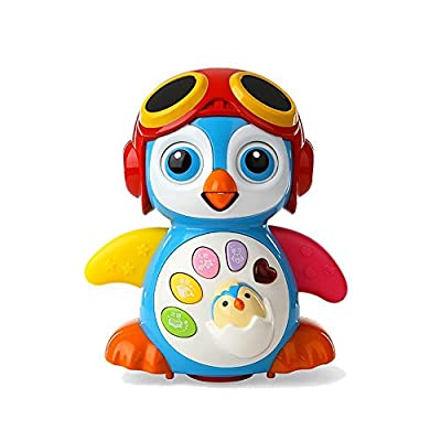 Aipa Baby Musical Penguin Toys EQ& Intelligence Training , Battery Operated with Swing ,Walking , Light, Voice Answers,Best Toys for Babies. by Aipa that we recomend individually.