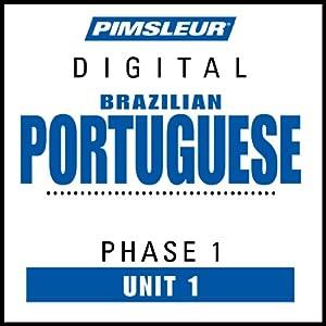Portuguese (Brazilian) Phase 1, Unit 01 Hörbuch