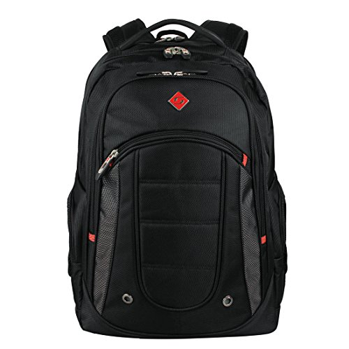 Soarpop SA9360 Notebook Laptop Carrying Backpack - Black