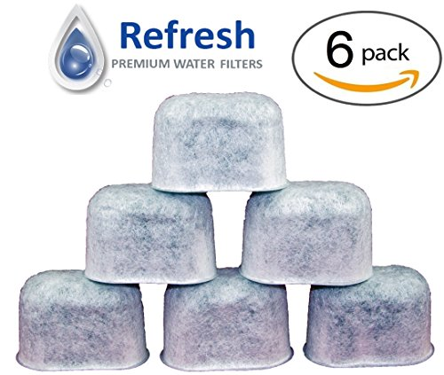 6-Pack - KEURIG Water Filter Replacement, Universal Fit Charcoal Filters - for Keurig 2.0 and Older Coffee Machines (Keurig Machine Filter compare prices)