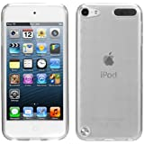 Evecase iPod Touch 5 Case, Flexible TPU Skin Checker Pattern Soft Cover Case for Apple iPod Touch 5 5G 5th Generation (2012 Version) (Clear)