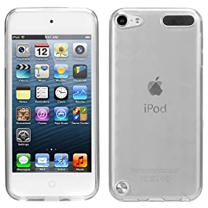 Evecase TPU Gel Cover Case for Apple iPod Touch iTouch 5G 5th Generation (2012 Version) (Clear)