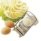 """Paderno World Cuisine Egg Slicer, Stainless Steel, 5"""""""