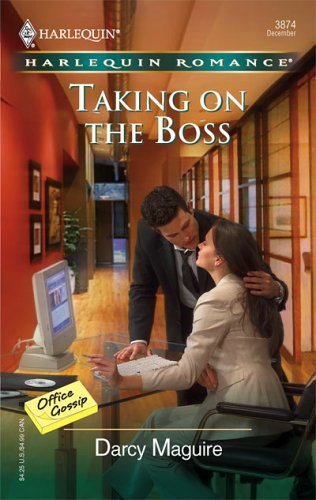 Image for Taking On The Boss (Harlequin Romance)