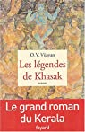 Les Légendes de Khasak par O. V. Vijayan