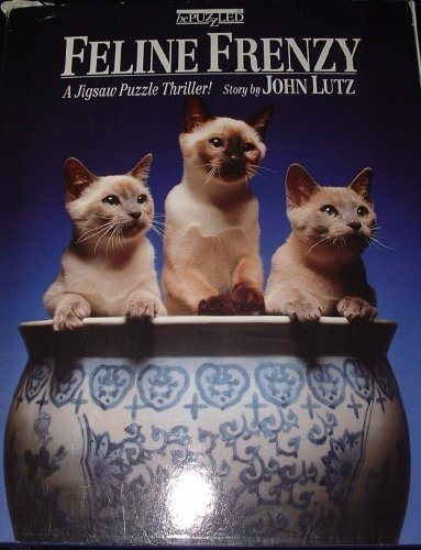 Feline Frenzy A Jigsaw Puzzle Thriller by John Lutz by Bepuzzled - 1