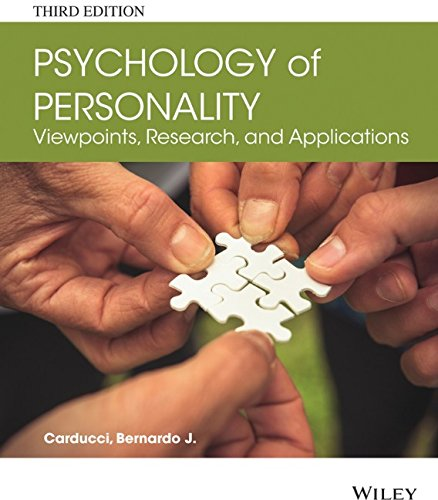 personality psychology and its applications Personality and consumer behaviour: a review  correlation between personality and consumer behaviour recorded by some researchers is  and personality psychology.