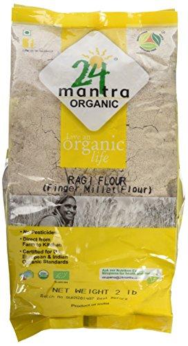 Organic Finger Millet Flour (Ragi) - 2 Lbs