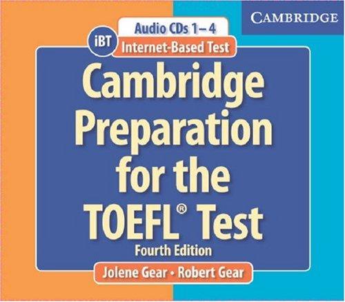 Toefl cambridge preparation for the toefl скачать