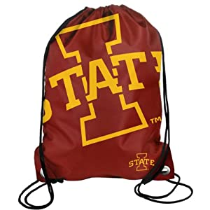 Buy Forever Collectibles NCAA Iowa State Cyclones Drawstring Backpack by Forever Collectibles