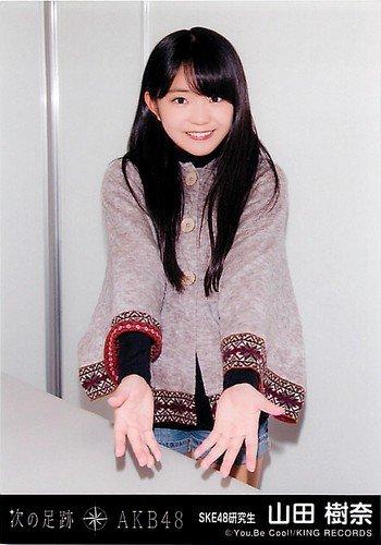 AKB48 公式生写真 次の足跡 劇場盤 【山田樹奈】