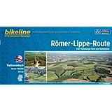 Römer-Lippe-Route. Vom Teutoburger Wald zum Niederrhein,  1 : 50 000, 445 km, GPS-Tracks Download, wetterfest/reißfest